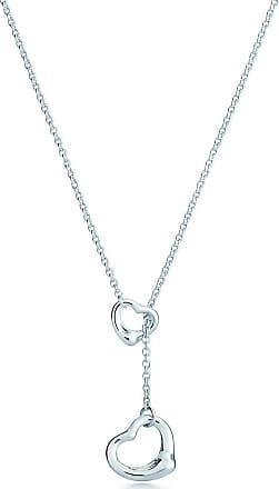 Tiffany & Co. Elsa Peretti Open Heart lariat in sterling silver