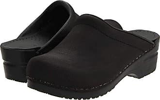 Sanita Sonja Oil (Black Oil) Womens Clog Shoes