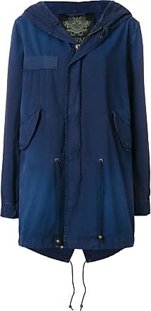 Mr & Mrs Italy classic hooded parka - Blue