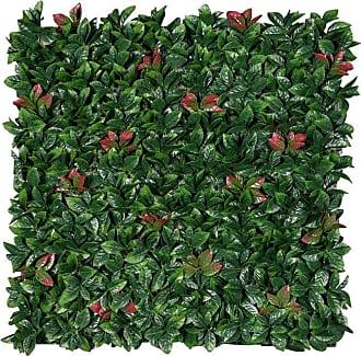 Vickerman FQ171801 Light Green//Red Fern Greenery Bush