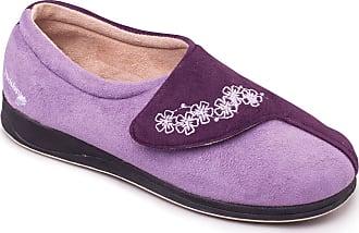 Padders 424-78 Hug Purple Multi Womens Slippers 9