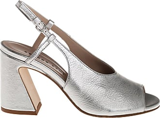 Ettore Lami sandalo tacco, 36 / argento