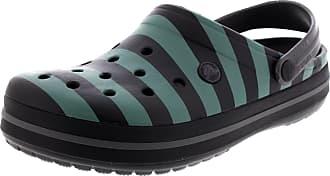 Crocs Shoes - Crocband Graphic Clog - Black Graphite, Size:11/12 UK