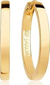 Sif Jakobs Jewellery Earrings Ellera Pianura Grande - 18k gold plated