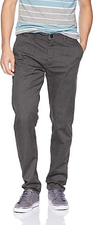 Quiksilver Mens New Everyday Union Pant, Dark Grey Heather, 30