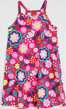 KYLY Vestido Kyly Infantil Floral Vermelho