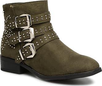 24c12f478c7ebb Xti 48429 - Stiefeletten   Boots für Damen   grün