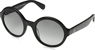 Kate Spade New York Womens KHRISTA/S Sunglasses, Black (Black Silver Glitter), 52.0