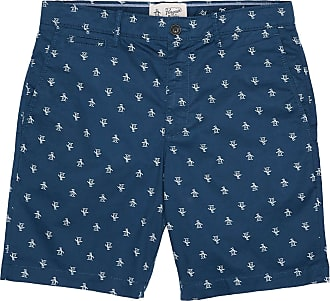 Original Penguin Drucken Sie Short Dark Denim - cotton | 30