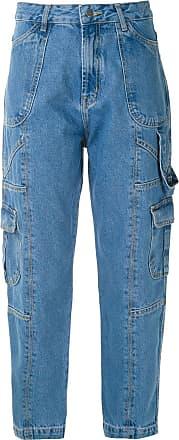 Framed Calça jeans reta Hanoi - Azul