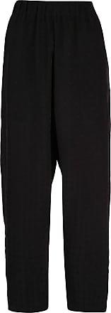 Uma Wang broderie anglaise trousers - Black