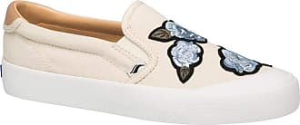 Keds Crew Kick 75 Slip-On Applique Natural 7 B (M)