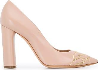 Casadei stud-embellished pumps - NEUTRALS