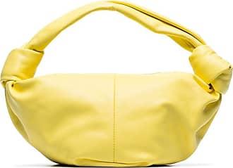 Bottega Veneta Clutch Jodie mini - Amarelo