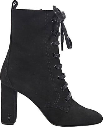 Saint Laurent Black Saint Laurent Suede Ankle Boots 45e932da9