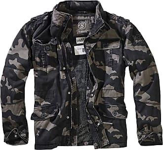 Brandit Men Winter Jacket Britannia, Size:2XL, Color:darkcamo