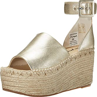 Free People Coastal Platform Wedge Gold 40 (US Womens 10) M