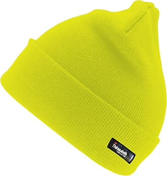Result Woolly Ski Hat with 3M Thinsulate Insulation, Hi-Vis Yellow, One Size