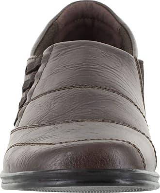 Easy Street Womens Avenu Shoe, Brown - 5.5