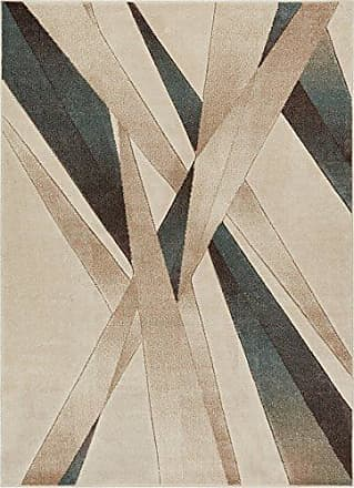 Well Woven RU-95-4 Mint Lalu Modern Abstract Lines 311 x 53 Area Rug