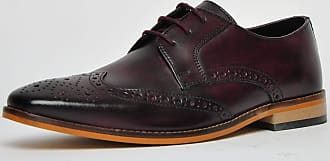 Ikon Classic Ramsay Leather Mens Burgundy