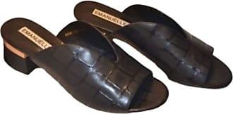 Generico Generic Mule EMANUELLE Vee Black Size: 8.5 UK