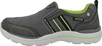 Dockers by Gerli Mens 46BN003-607220 Sneaker, Dark Grey 46bn003 607220, 9.5 UK