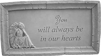 Kay Berry You Will Always Be In Our Hearts Framed Memorial Stone - 49603