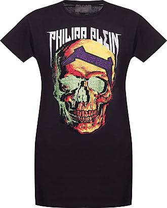 Philipp Plein Printed T-shirt Womens Black