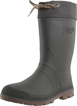 kamik Mens Icebreaker Rubber Boots Rubber Boots, Green (Khz), 44/45 (Manufacturer Size: 11 M US)
