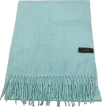 CJ Apparel Light Blue Mens Solid Colour Design Fashion Knitted Scarf Seconds Scarves Fall/Winter Wrap NEW
