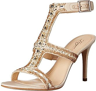 Imagine Vince Camuto Womens Im-Price Dress Sandal, Light Sand, 8 M US