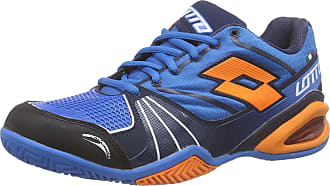 cd439d1614843 Lotto Mens Stratosphere Clay Tennis Shoes Blue Size  12 UK