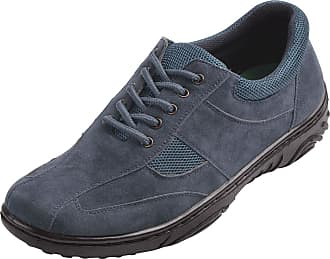 Cushion-Walk Mens Lace Travel Shoe with Gel Pad Navy 8 UK