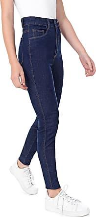 Malwee Calça Jeans Malwee Skinny Pespontos Azul