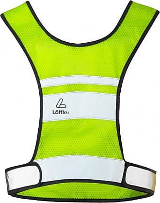 LOEFFLER Reflex Vest Gilet da ciclismo Unisex   verde/bianco