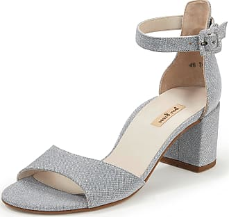 Paul Green Sandals adjustable ankle strap Paul Green silver