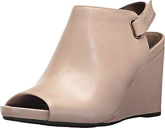 Life Stride Womens Hazy Wedge Sandal, Soft Taupe, 9 M US
