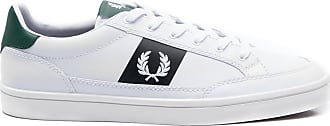 Fred Perry TÊNIS MASCULINO DEUCE LEATHER - BRANCO