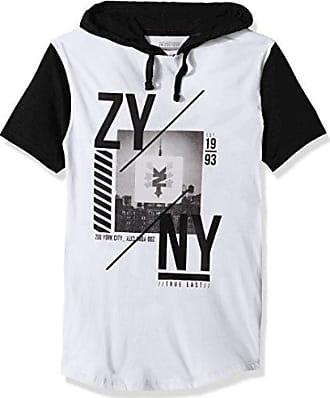 Zoo York Mens Short Sleeve Hoodie, Framed White, Small