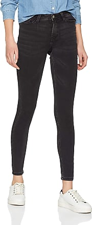 Jacqueline de Yong Womens Jdyjake Skinny Rw DNM Noos Jeans, Black Denim Black Denim, 28W / 32L