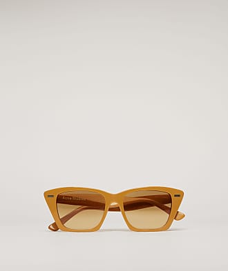 Acne Studios Ingridh Mustard yellow/yellow degrade D-frame acetate sunglasses
