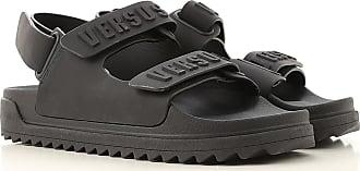 Versace Sandals for Men On Sale, Black, Rubber, 2017, 10 10.5 12 8