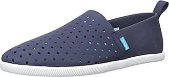 a754cb171d8 Native Shoes Womens Venice Flat Regatta Blue Shell White 5W7