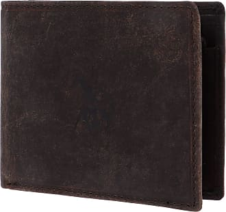 U.S.Polo Association U.S. POLO ASSN. Tulsa Horizontal Wallet Coin Brown