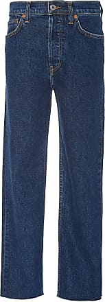 Re/Done High-Rise Stovepipe Jeans