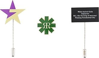 Raf Simons Kit com 3 bottons - Verde