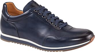 Magnanni Hochwertiger Ledersneaker von Magnanni in Blau für Herren