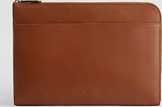 No.14 Savile Row No. 14 Leather Portfolio Case | Tan