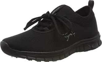 Kangaroos Womens K-Run Neo S Low-Top Sneakers, Black (Jet Black/Mono 5500), 7.5 UK